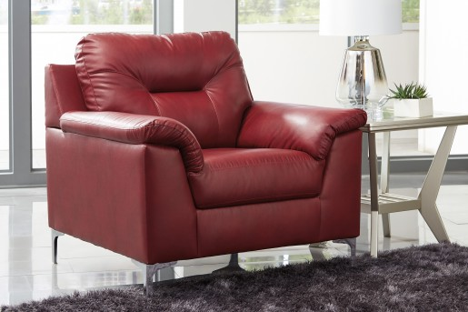 Ashley Tensas Red Chair Available Online in Dallas Fort Worth Texas