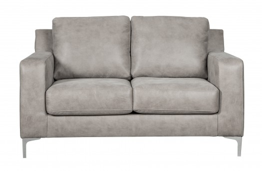Ashley Ryler Steel Loveseat Available Online in Dallas Fort Worth Texas