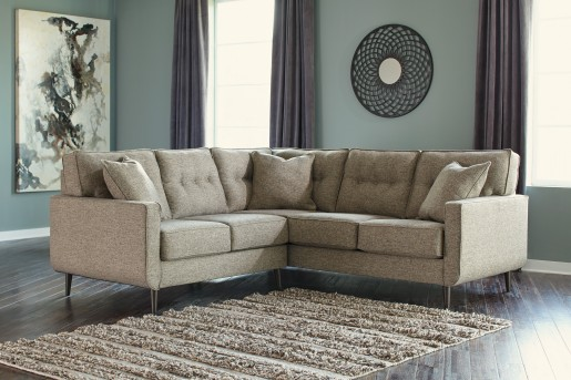 Ashley Dahra Left Arm Facing Loveseat Available Online in Dallas Fort Worth Texas