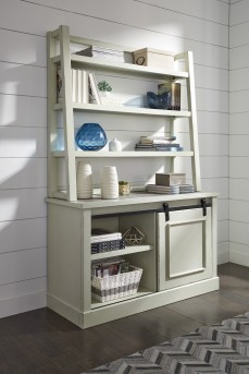 Ashley Jonileene Home Office Tall Desk Hutch Available Online in Dallas Fort Worth Texas