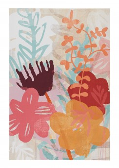 Ashley Patli Orange Wall Art Available Online in Dallas Fort Worth Texas