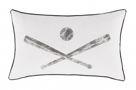 Ashley Waman Charcoal Pillow Available Online in Dallas Fort Worth Texas