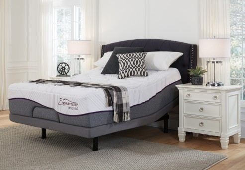 Ashley Respond Series Cal King White Mattress Available Online in Dallas Fort Worth Texas