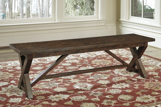 Ashley Windville Large Dining Room Bench Available Online in Dallas Fort Worth Texas