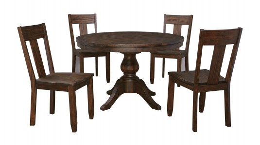 Ashley Trudell 5pc Dark Brown Dining Room Set Available Online in Dallas Fort Worth Texas
