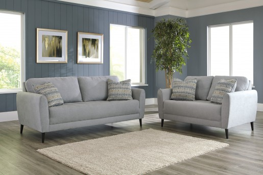 Ashley Cardello 2pc Pewter Sofa & Loveseat Set Available Online in Dallas Fort Worth Texas