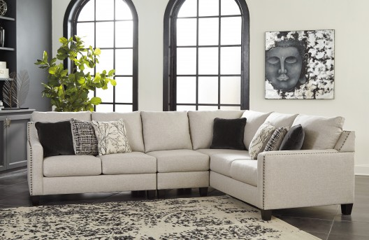 Ashley Hallenberg 3pc Right Arm Facing Sofa Sectional Available Online in Dallas Fort Worth Texas