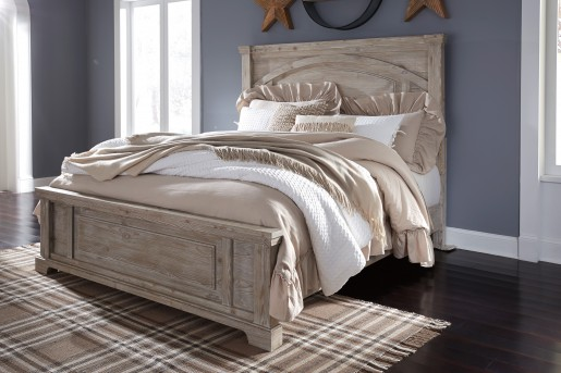 Ashley Charmyn Queen Panel Bed Available Online in Dallas Fort Worth Texas