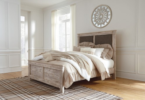 Ashley Willabry Queen Panel Bed Available Online in Dallas Fort Worth Texas