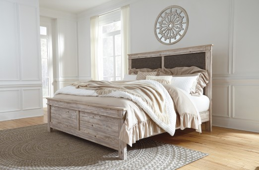 Ashley Willabry King Panel Bed Available Online in Dallas Fort Worth Texas