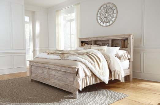 Ashley Willabry King Bookcase Bed Available Online in Dallas Fort Worth Texas