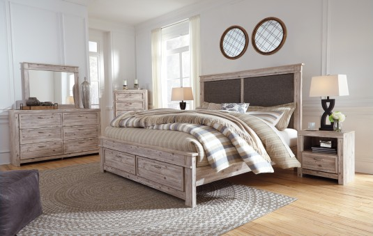 Ashley Willabry 5pc King Storage Bedroom Group Available Online in Dallas Fort Worth Texas