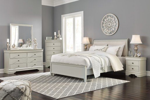 Ashley Jorstad 5pc Queen Bedroom Group Available Online in Dallas Fort Worth Texas