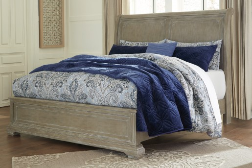 Ashley Borlend King/Cal King Sleigh Bed Available Online in Dallas Fort Worth Texas