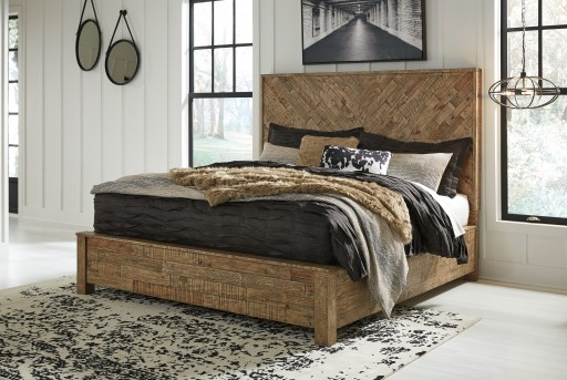 Ashley Grindleburg King/Cal King Bed Available Online in Dallas Fort Worth Texas