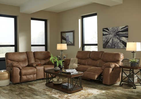 Ashley Boxberg 2pc Reclining Sofa & Loveseat Set Available Online in Dallas Fort Worth Texas