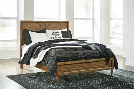 Ashley Broshtan Queen Panel Bed Available Online in Dallas Fort Worth Texas