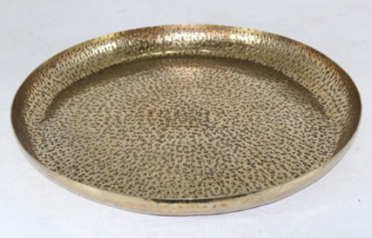 Ashley Morley Antique Brass Tray Available Online in Dallas Fort Worth Texas