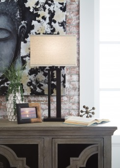 Ashley Aniela Bronze Metal Table Lamp Available Online in Dallas Fort Worth Texas