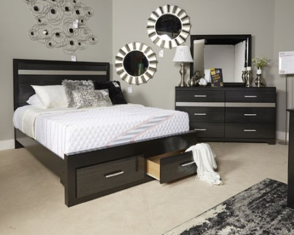 Ashley Starberry King Storage Footboard Available Online in Dallas Fort Worth Texas