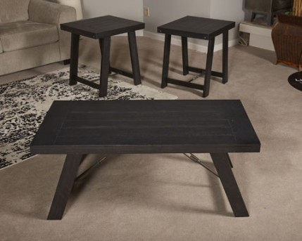 Ashley Noorbrook Black Coffee Table Set Available Online in Dallas Fort Worth Texas
