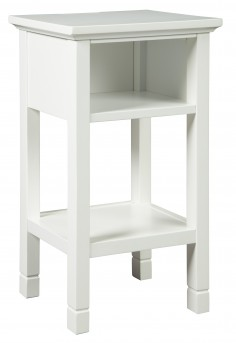 Ashley Marnville White Accent Table Available Online in Dallas Fort Worth Texas