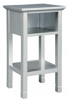 Ashley Marinville Silver Accent Table Available Online in Dallas Fort Worth Texas