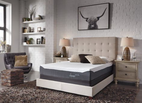 Ashley Inch Chime Blue Queen Mattress Available Online in Dallas Fort Worth Texas