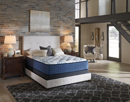 Ashley Mt Dana Euro Top White Cal King Mattress Available Online in Dallas Fort Worth Texas