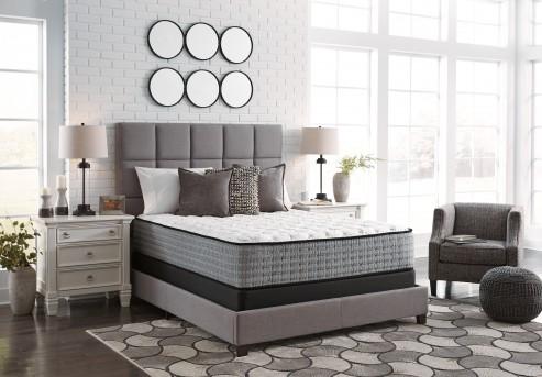 Ashley Mt Rogers White King Mattress Available Online in Dallas Fort Worth Texas