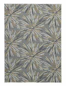Ashley Calendre Gray/Yellow/White Large Rug Available Online in Dallas Fort Worth Texas