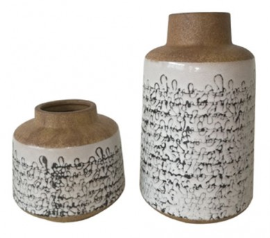 Ashley Meghan Tan/Black Vase Available Online in Dallas Fort Worth Texas