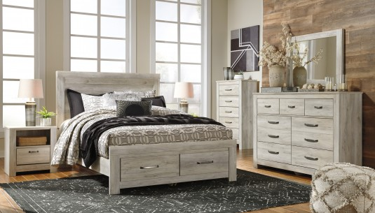Ashley Bellaby 5pc King Storage Panel Bedroom Group Available Online in Dallas Fort Worth Texas
