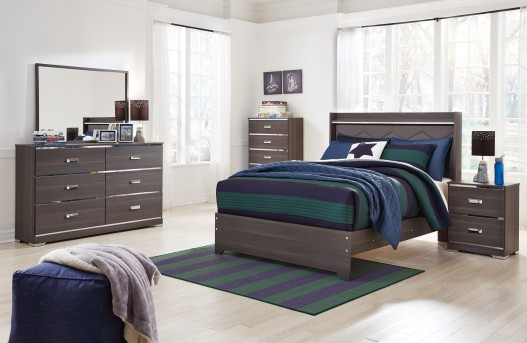 Ashley Annikus 5pc Full Panel Bedroom Group Available Online in Dallas Fort Worth Texas