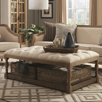 Coaster Kulpmont Brown Coffee Table Available Online in Dallas Fort Worth Texas