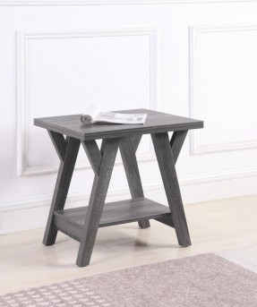 Coaster Ridge Grey End Table Available Online in Dallas Fort Worth Texas
