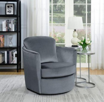 Coaster Saint John Grey Accent Chair Available Online in Dallas Fort Worth Texas