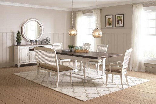 Coaster Pulaski Rectangular Dining Table Available Online in Dallas Fort Worth Texas