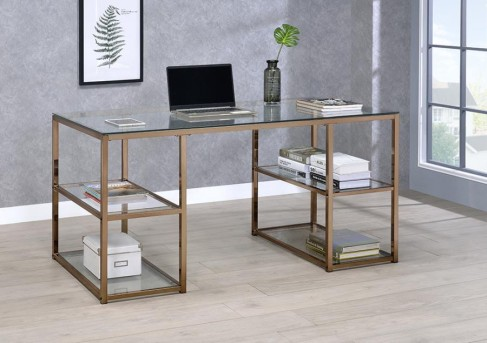 Coaster Milwau Writing Desk Available Online in Dallas Fort Worth Texas