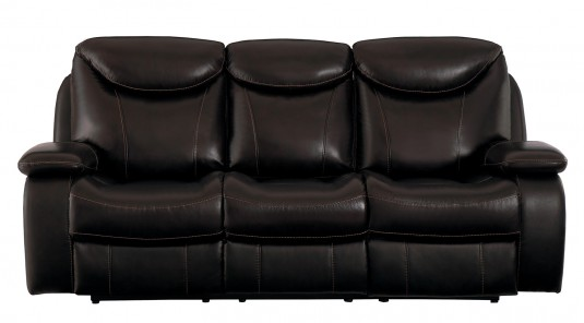 Homelegance Verkin Brown Double Reclining Sofa Available Online in Dallas Fort Worth Texas