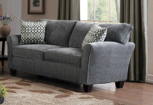Homelegance Alain Grey Loveseat Available Online in Dallas Fort Worth Texas