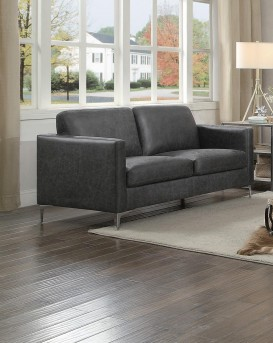 Homelegance Breaux Grey Loveseat Available Online in Dallas Fort Worth Texas