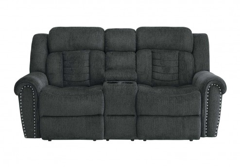 Homelegance Nutmeg Charcoal Loveseat Available Online in Dallas Fort Worth Texas
