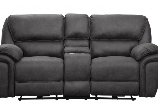 Homelegance Hadden Grey Double Reclining Loveseat Available Online in Dallas Fort Worth Texas