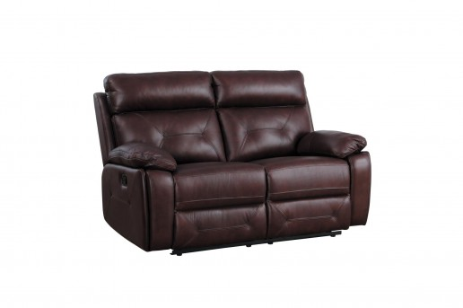 Homelegance Resonance Brown Double Reclining Loveseat Available Online in Dallas Fort Worth Texas