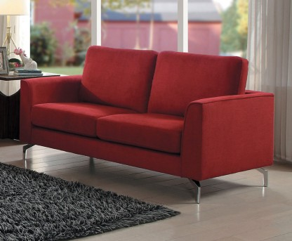 Homelegance Canaan Red Loveseat Available Online in Dallas Fort Worth Texas