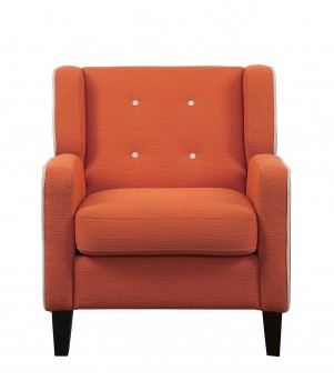 Homelegance Roweena Orange Accent Chair Available Online in Dallas Fort Worth Texas