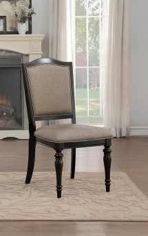Homelegance Marston Cherry Side Chair Available Online in Dallas Fort Worth Texas