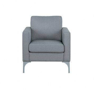 Homelegance Soho Light Grey Chair Available Online in Dallas Fort Worth Texas
