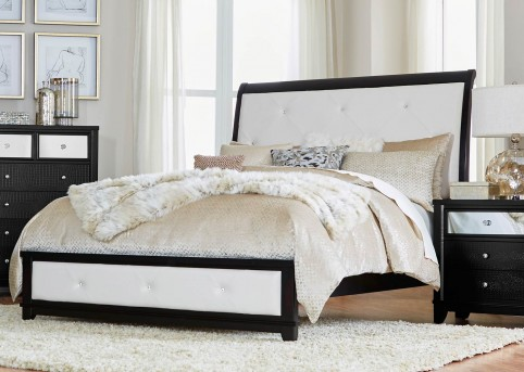 Homelegance Odelia Black Queen Bed Available Online in Dallas Fort Worth Texas